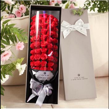 香皂花花束礼盒